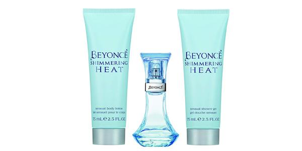 Set de regalo Eau de Toilette Beyonce Shimmering Heat de 30 ml + Gel de ducha y loción corporal chollo en Amazon
