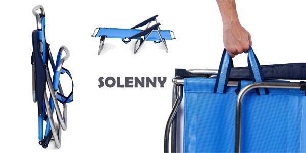 Silla plegable Solenny regulable en 4 posiciones chollo en Amazon