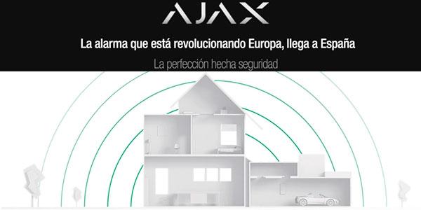 Sistema de alarma Ajax Starter Kit barato