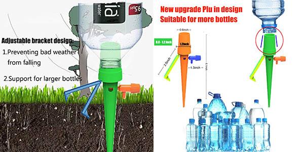 sistema de riego automático para plantas STN compatible con botellas de diferente tamaño oferta
