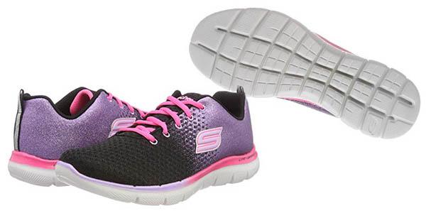 Skech Appeal 2.0-Get Em Glitt zapatillas infantiles oferta