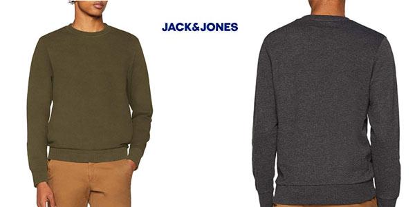 Suéter Jack & Jones Jjeholmen Sweat Crew neck Noos barato en Amazon