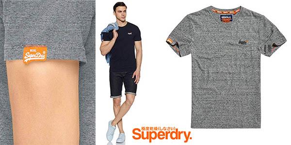 Superdry Orange Label camiseta de algodón barata