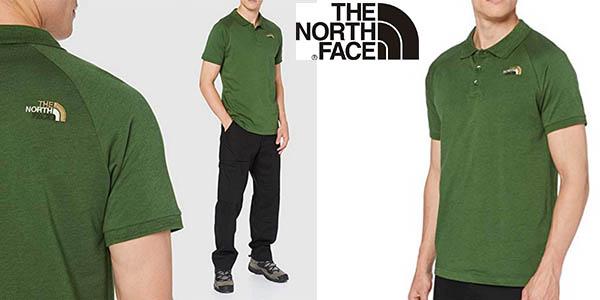 The North Face polo manga raglán oferta