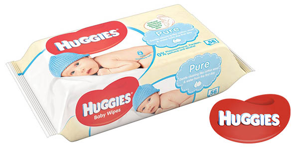 toallitas húmedas sin perfume Huggies Pure oferta