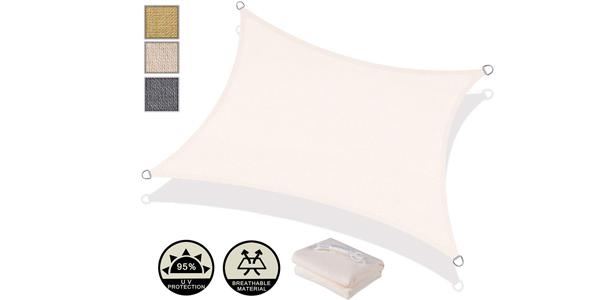 Toldo Vela AXT SHADE de Sombra Rectangular 2 x 3 m chollo en Amazon