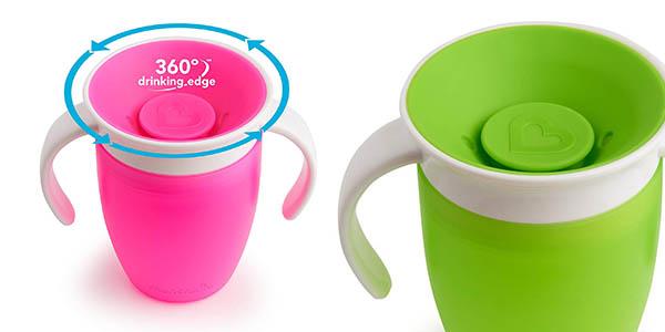 vaso antiderrames Munchkin Miracle 360 barato