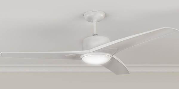 ventilador de techo con lámpara Cecotec Forcesilence Aero 550 chollo