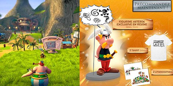 Videojuego Asterix & Obelix XXL 2 Collector's Edition con figura para Switch barato
