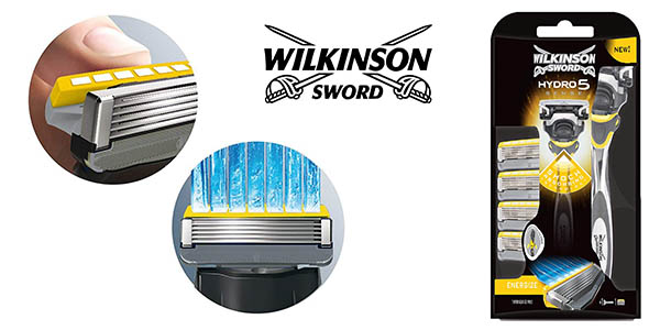 Wilkinson Sword Pack Hydro 5 sense chollo