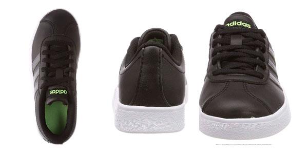 Zapatillas Adidas VL Court 2.0 k infantiles en oferta en Amazon