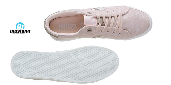 Zapatillas de caña baja MTNG 69596 para mujer chollo en Amazon