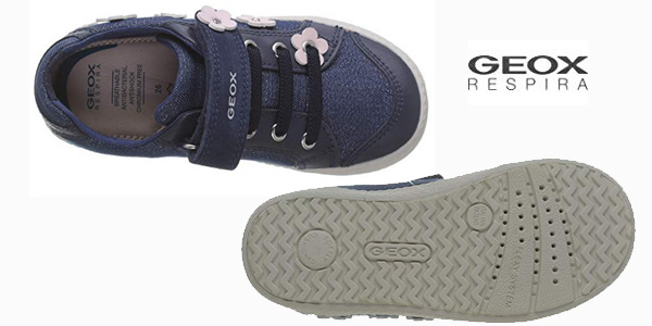 Zapatillas Geox Baby Kilwi Girl para bebé chollo en Amazon