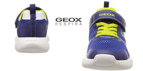 Zapatillas deportivas Geox Jr Waviness Boy chollazo en Amazon