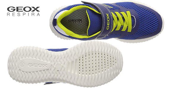 Zapatillas deportivas Geox Jr Waviness Boy chollo en Amazon