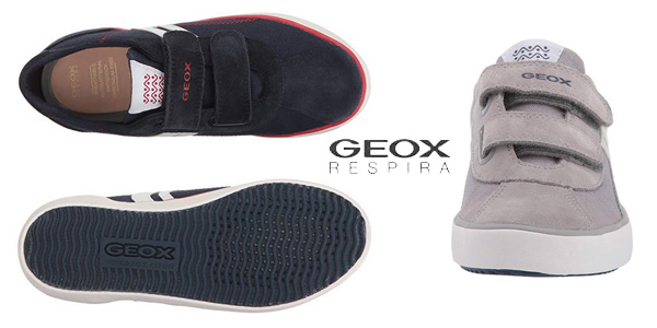 Zapatillas Geox J Kilwi I con cierre de velcro para niño chollo en Amazon