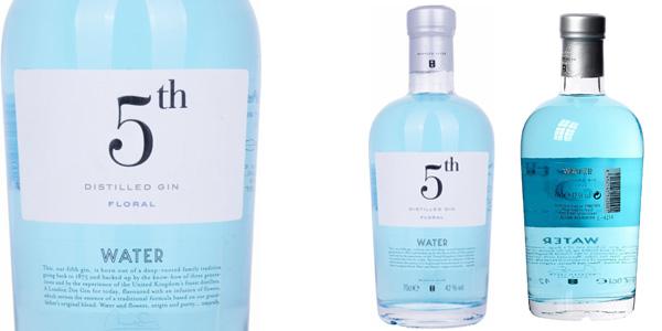 Ginebra 5TH Water Floral Distilled Gin de 700 ml barata en Amazon