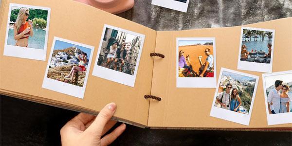 Álbum de fotos DIY 40 páginas + set papelería chollazo en Amazon
