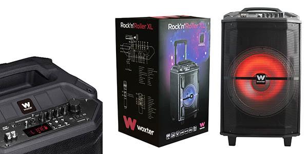 altavoz Woxter Rock'N'Roller XL con micrófonos para karaoke