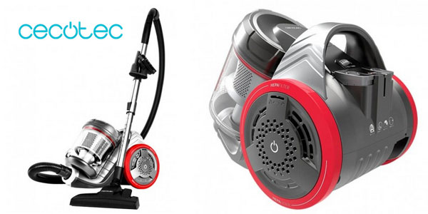 Aspirador de trineo multi ciclónico Cecotec EcoExtreme 3000 sin bolsa barato en Amazon