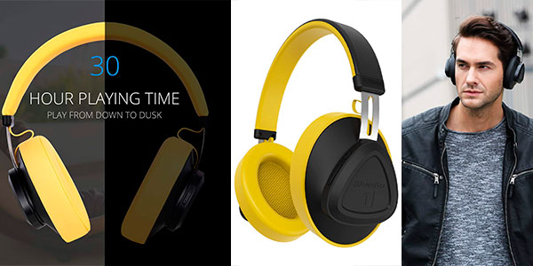 Auriculares Bluedio TM Bluetooth 5.0 inalámbricos baratos
