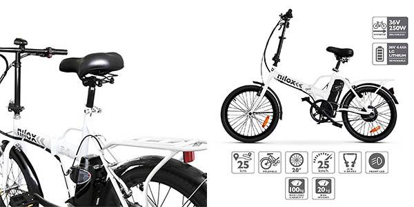 bicicleta eléctrica Nilox ebike X1 unisex barata