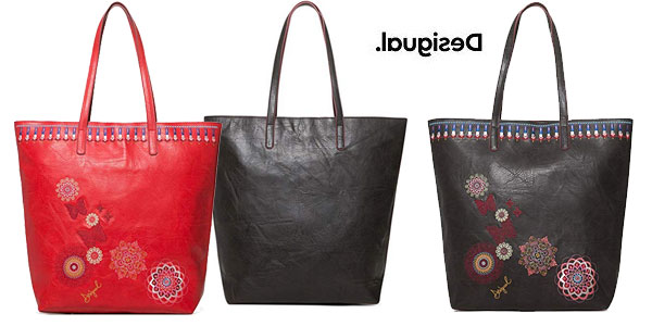 Bolso shopper Desigual Chandy Rio Zipper barato en Amazon