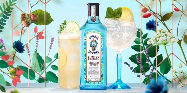 Bombay Sapphire English Estate Limited Edition Gin de 700 ml chollo en Amazon