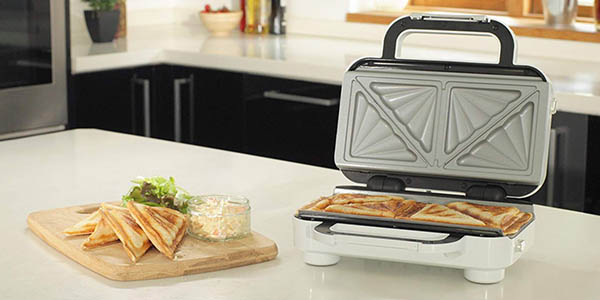 Breville DuraCeramic VST074X sandwichera con placas extraíbles oferta