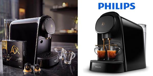 cafetera Philips L'OR Barista LM8012/60 con cápsulas oferta