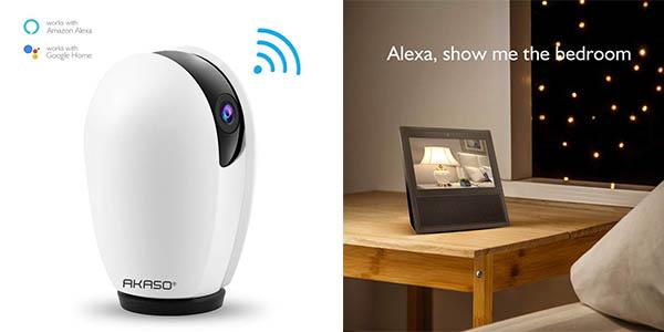 cámara de seguridad Akaso digital con aplicación móvil código descuento Amazon