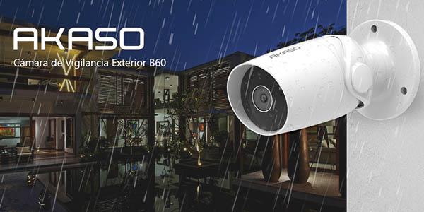 Cámara de Vigilancia Exterior AKASO B60 1080p Impremeable