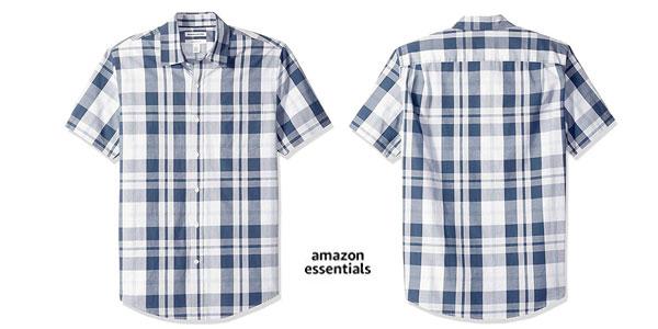 Camisa de manga corta Amazon Essentials Slim-fit chollo en Amazon
