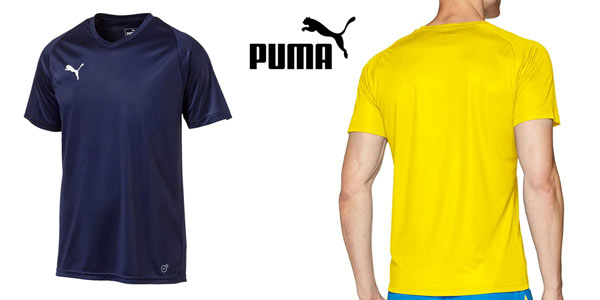 Camiseta deportiva Puma Liga barata en Amazon