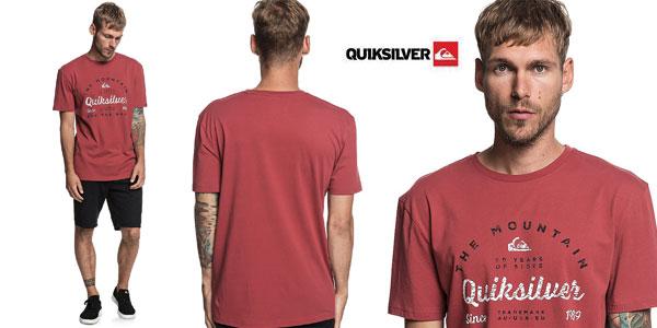Camiseta manga corta Quiksilver In Drop para hombre barata en Amazon