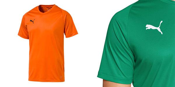 Camiseta deportiva Puma Liga en oferta en Amazon