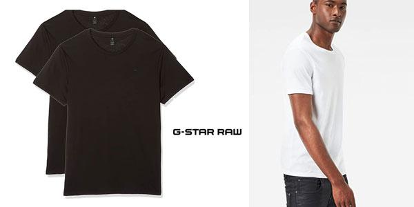 Camisetas Básicas G Star Raw baratas