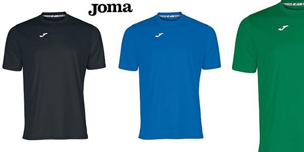 Camisetas deportivas Joma Combi baratas en Amazon