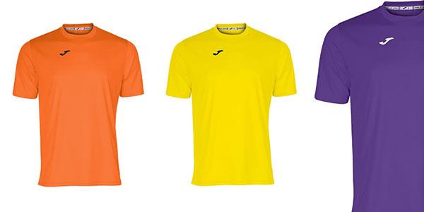 Camisetas deportivas Joma Combi en oferta en Amazon