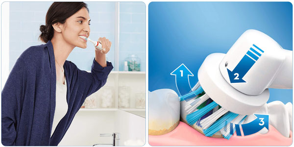 Cepillo de dientes eléctrico recargable Oral B Smart 4 4500 N chollazo en Amazon