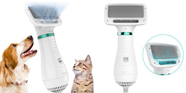 DADYPET Cepillo-secador para Perros y Gatos barato en Amazon