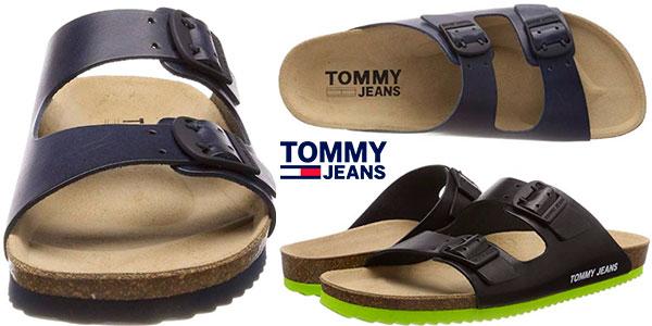 Chollo Chanclas Tommy Jeans Buckle para hombre