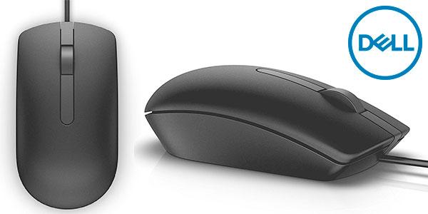 Chollo Ratón óptico Dell MS116 USB ambidiestro de 1.000 dpi