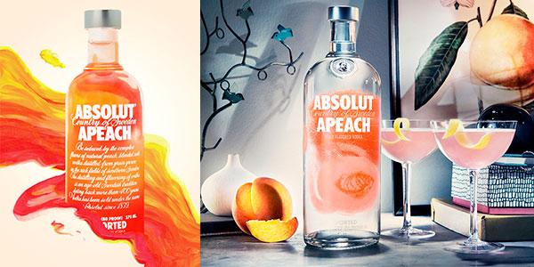 Chollo Vodka Absolut Apeach de 1.000 ml