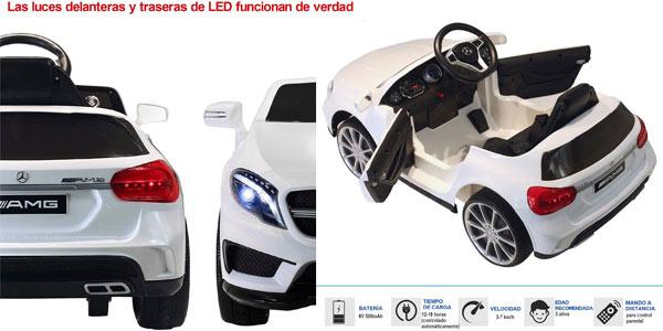 Coche eléctrico infantil Homcom Mercedes Benz Gla rebajado en Amazon