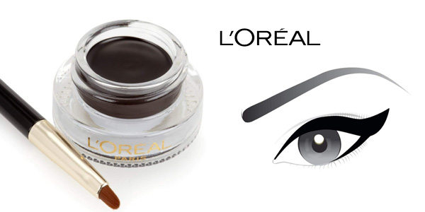 Delineador en gel con pincel L'Oréal Paris Superliner Gel Intenza color negro chollo en Amazon