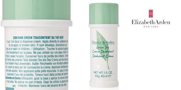 Desodorante en crema Elizabeth Arden Green Tea de 40 ml chollo en Amazon