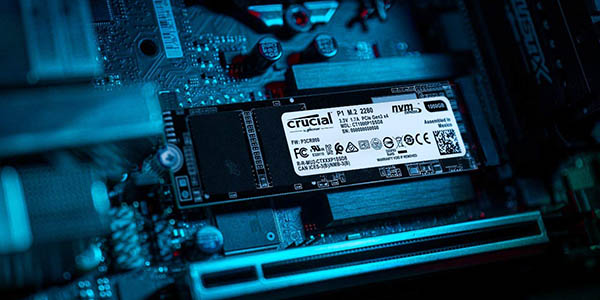Crucial P1 NVMe PCIe barato
