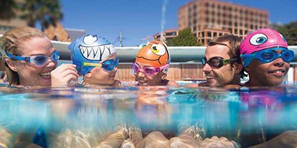 Gafas de natación Zoggs Phantom con lentes ahumadas chollo en Amazon