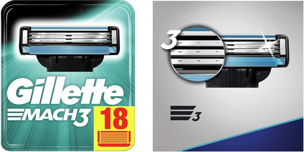 Gillette Mach3 recambios baratos de oferta
